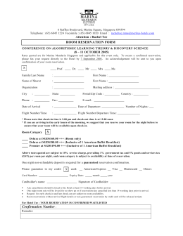 Hotel reservation form confirmation number room reservation form thecheapjerseys Choice Image
