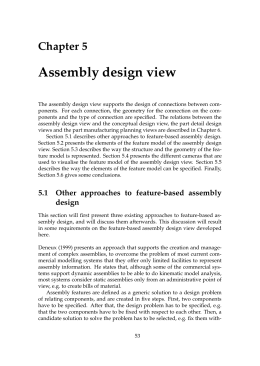 Assembly design view