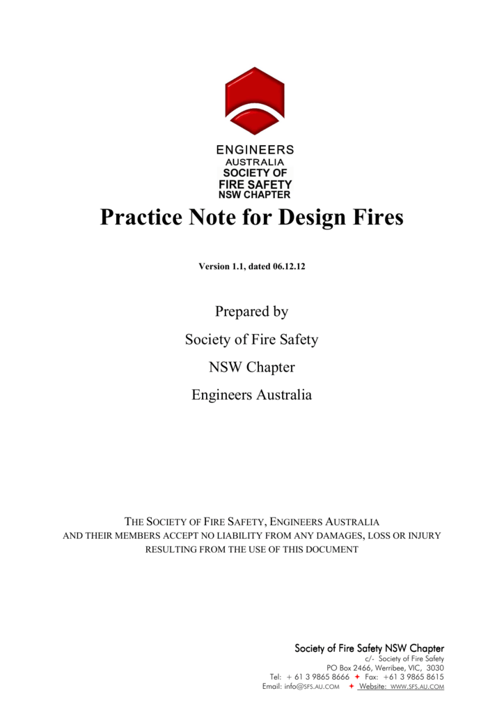 practice note for design fires rh studylib net Firefighting Wallpaper Backgrounds Firefighter Symbol