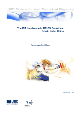 The ICT Landscape in BRICS Countries
