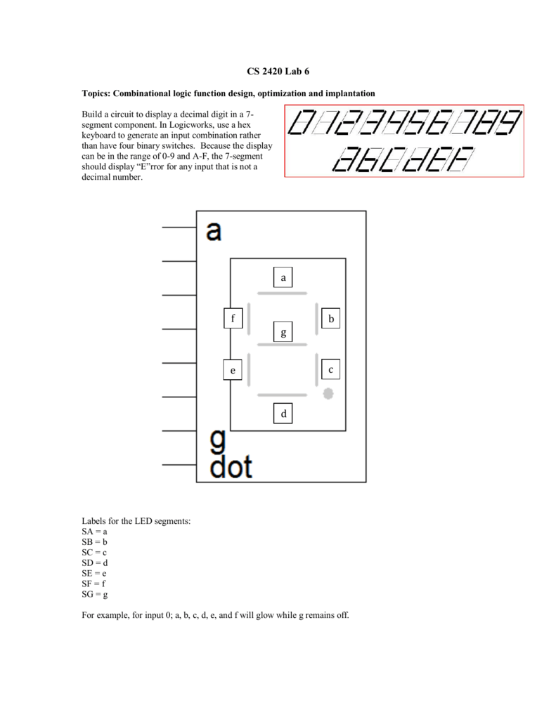 Lab 6 Keypad Circuit That Will Convert From Decimal To Bcd