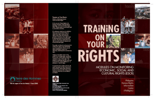 training on your rights
