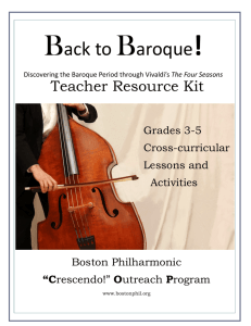 Back to Baroque! - Boston Philharmonic