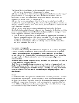 Business Essay Examples The Rime Of The Ancient Mariner Can Be Interpreted In Various Ways Thesis Statement Essay also Sample Business Essay The Rime Of The Ancient Mariner Interpretations For The Debate How To Write An Essay Thesis