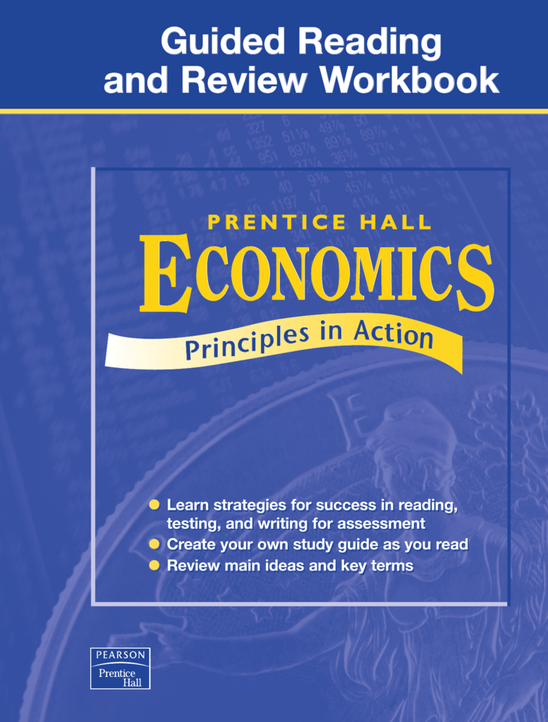 prentice hall economics unit 1 answer key