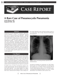 Case Report - American Association of Physician Specialists, Inc.