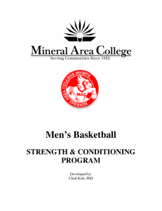 Men's Basketball - Mineral Area College