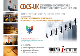 certified documentary credit specialist