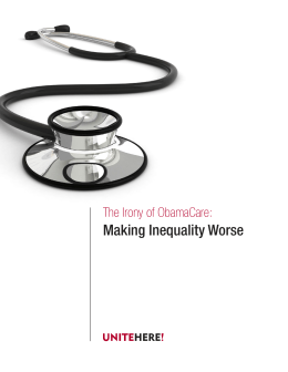 Making Inequality Worse