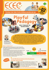 Playful Pedagogy Playful Pedagogy