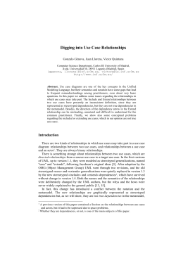 Digging into Use Case Relationships