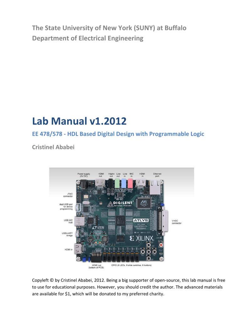 Lab Manual v1 2012