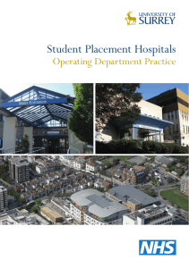 Student Placement Hospitals