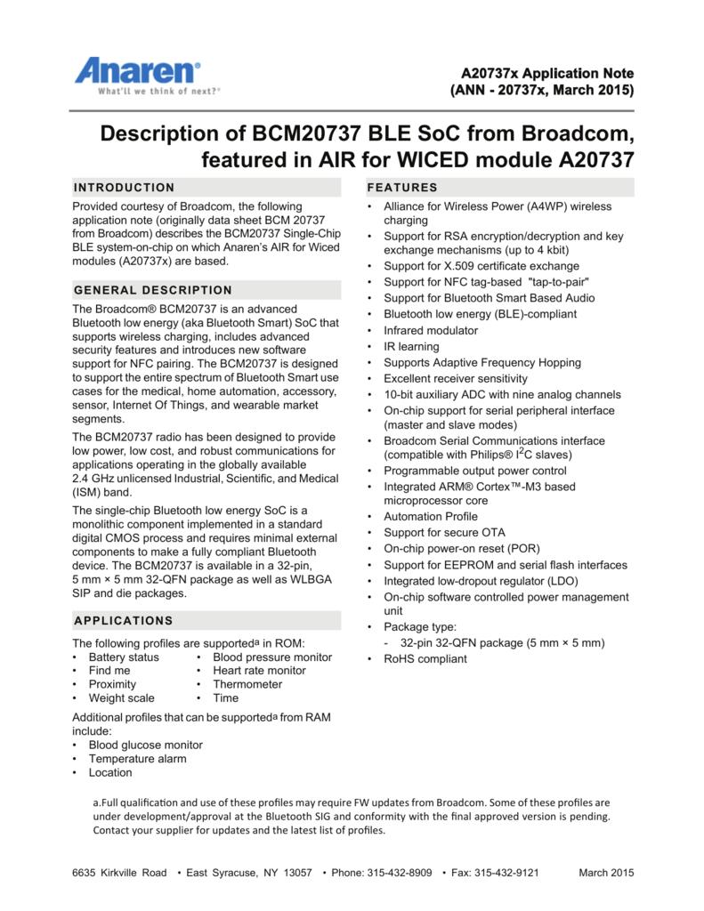 BROADCOM WICED HCI UART DRIVERS FOR WINDOWS MAC