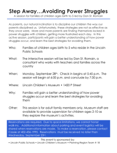 Dan St Romain Parent Workshop Flyer