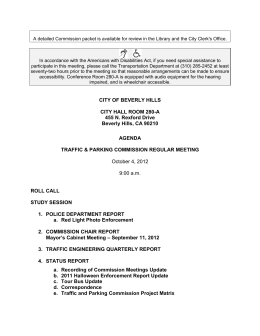 10-4-2012 Agenda - City Of Beverly Hills