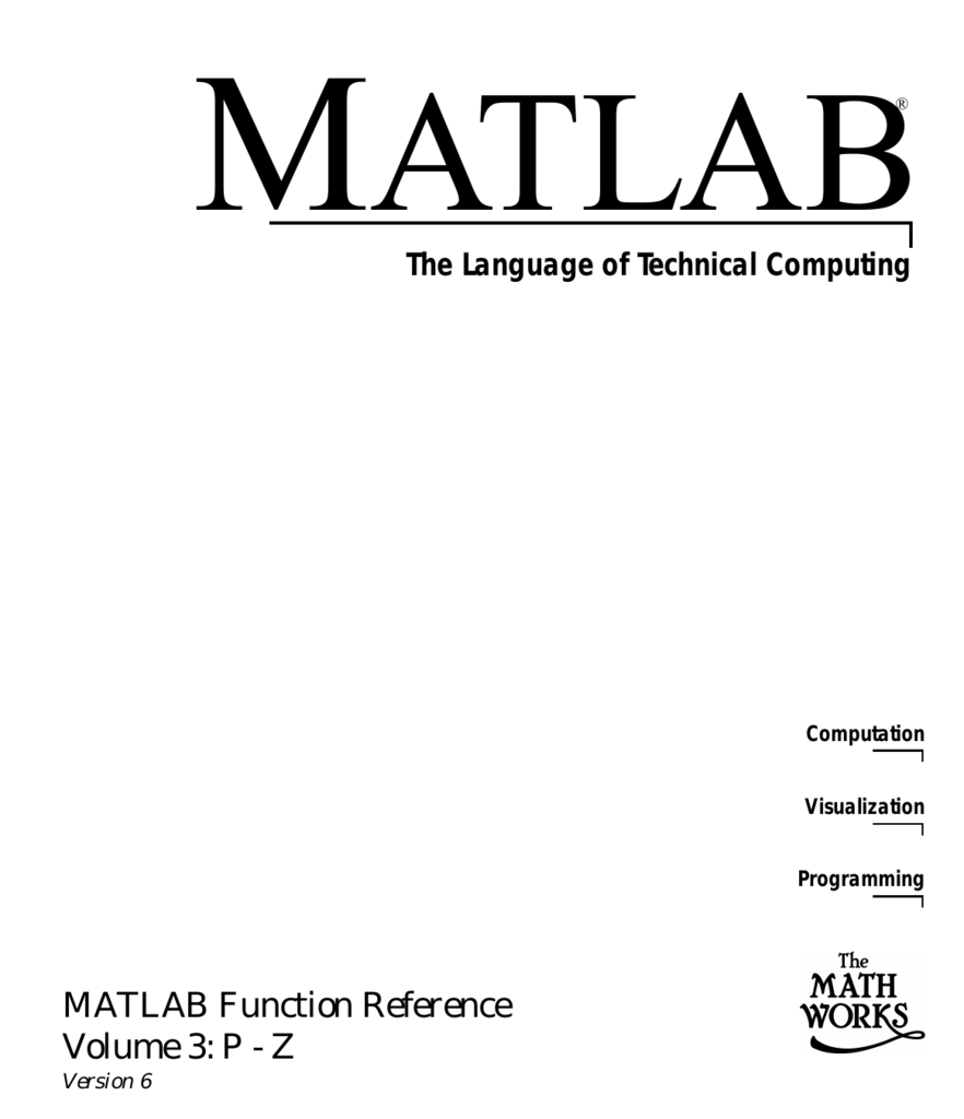 Matlab function reference p z buycottarizona Image collections