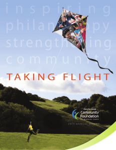 2011 Annual - The Community Foundation for Monterey County