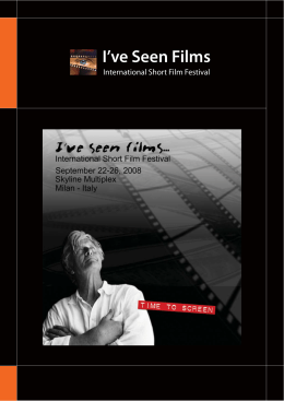 I've Seen Films - Andrea Di Bari