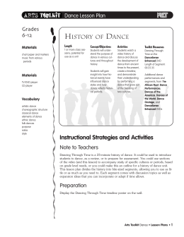 Dance Vocabulary Learning Games