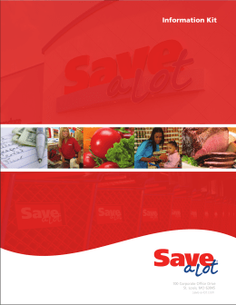Save-A-Lot Media Kit