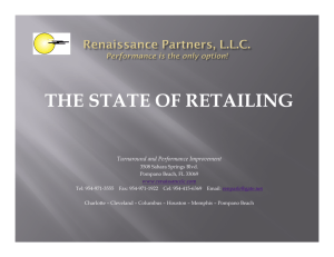 State of Retailing 2009