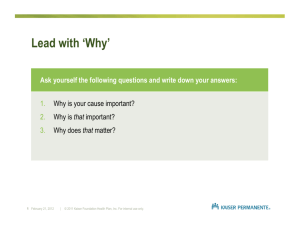 Lead with 'Why'