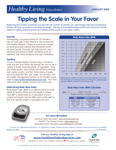 Tipping the Scale in Your Favor
