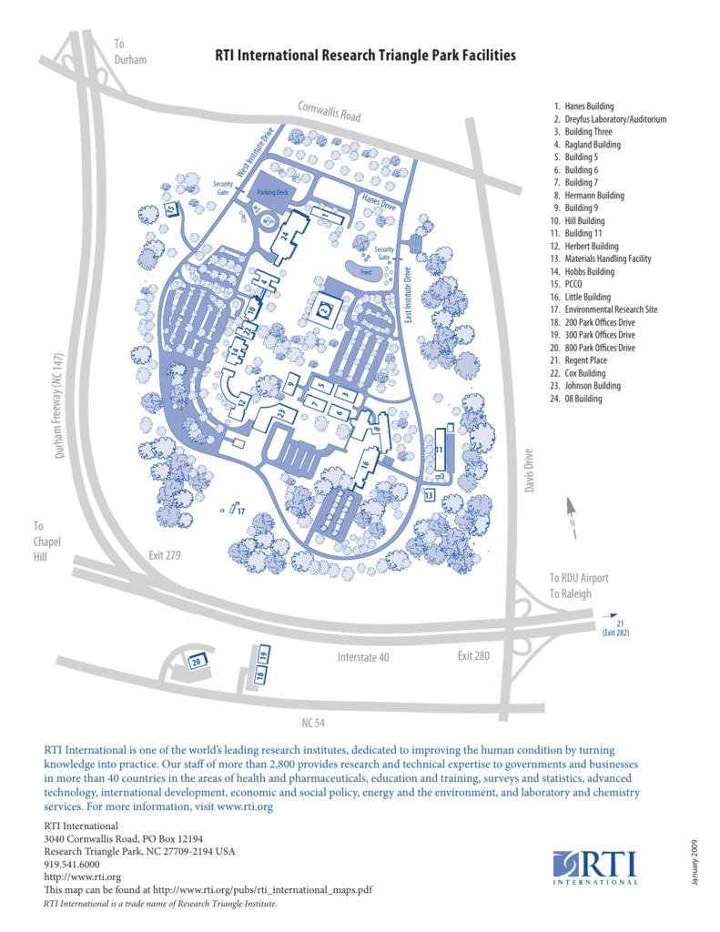 Rti Campus Map.Campus Map