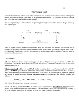Chemistry lab report identifying solutions by observing chemical ractions