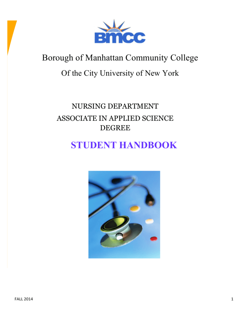 Nursing Student Handbook - Borough of Manhattan Community