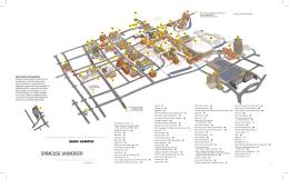 Campus Map Syracuse University Athletics
