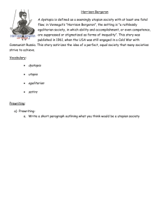 Harrison Bergeron-student worksheet
