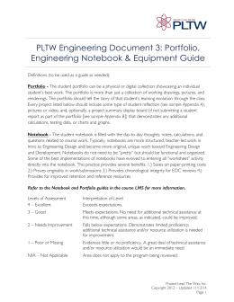 your engineering notebook rh studylib net Engineering Design Engineering Notebook Template