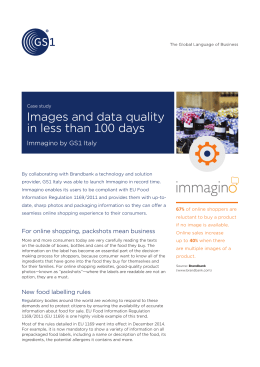 Images and data quality in less than 100 days