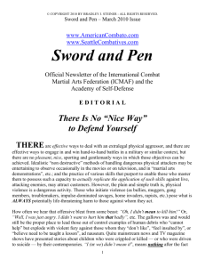 March 2010 - Sword and Pen