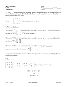 Worksheet 2 Blank