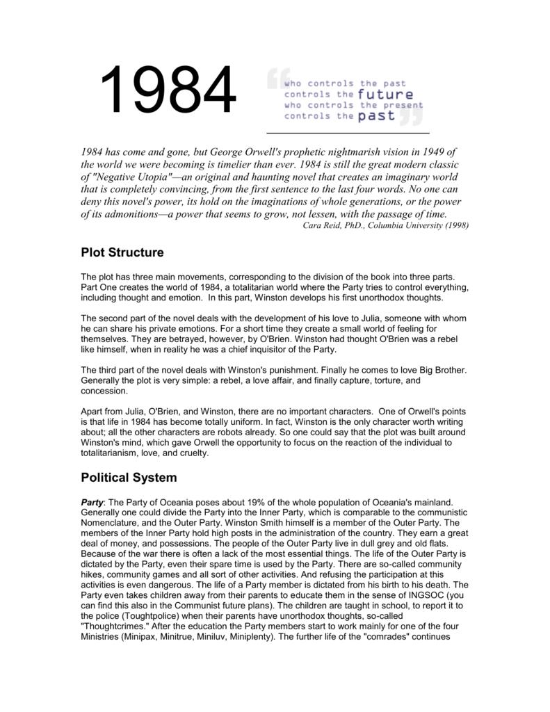obrien 1984 quotes