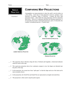Comparing Map Projections