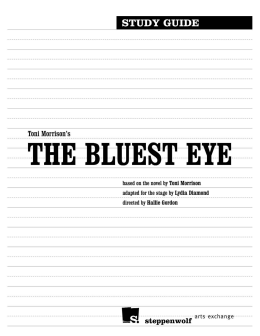 imagery in the bluest eye