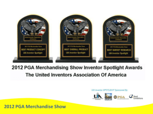 2012 PGA Merchandise Show The Judges