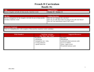 French II Curriculum
