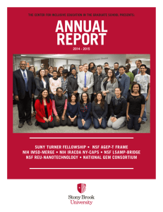 CIE 2014-2015 Annual Report