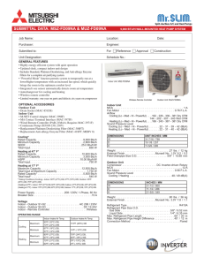 Mitsubishi MAC-308FT-E Filter For MSZ-FE09NA-8 MSZ-FE12NA-8 MSZ-FD09NA MSZ-FD