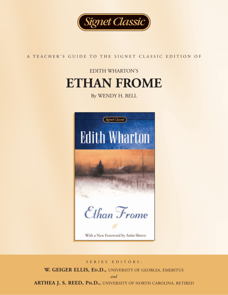 ethan frome essays Ethan frome: a chapter analysis essay wharton's ethan frome: escape from passivity essays over the course of the years, ethan, lonely and miserable.
