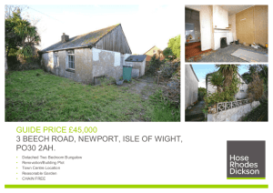 guide price £45000 3 beech road, newport, isle of wight, po30 2ah.