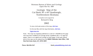 Cut Bank-sm.FH10 - Montana Bureau of Mines and Geology