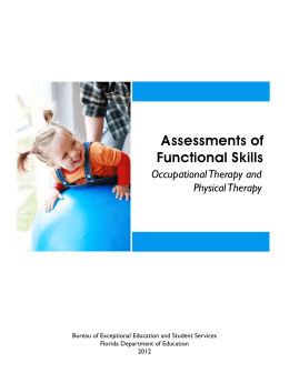 Assessments of Functional Skills - Florida Department of Education