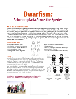 Dwarfism: Achondroplasia Across the Species - xy-zoo