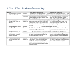 A Tale of Two Stories—Answer Key